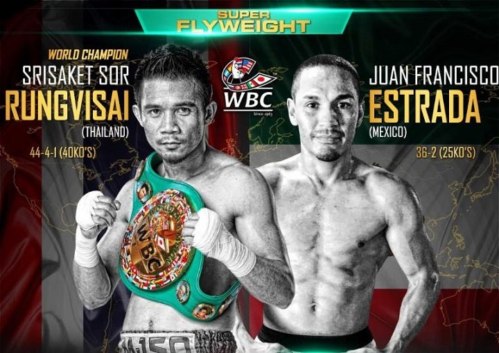 Rungvisai-Estrada, Cuadras-Arroyo & Nietes-Reveco this Saturday on HBO