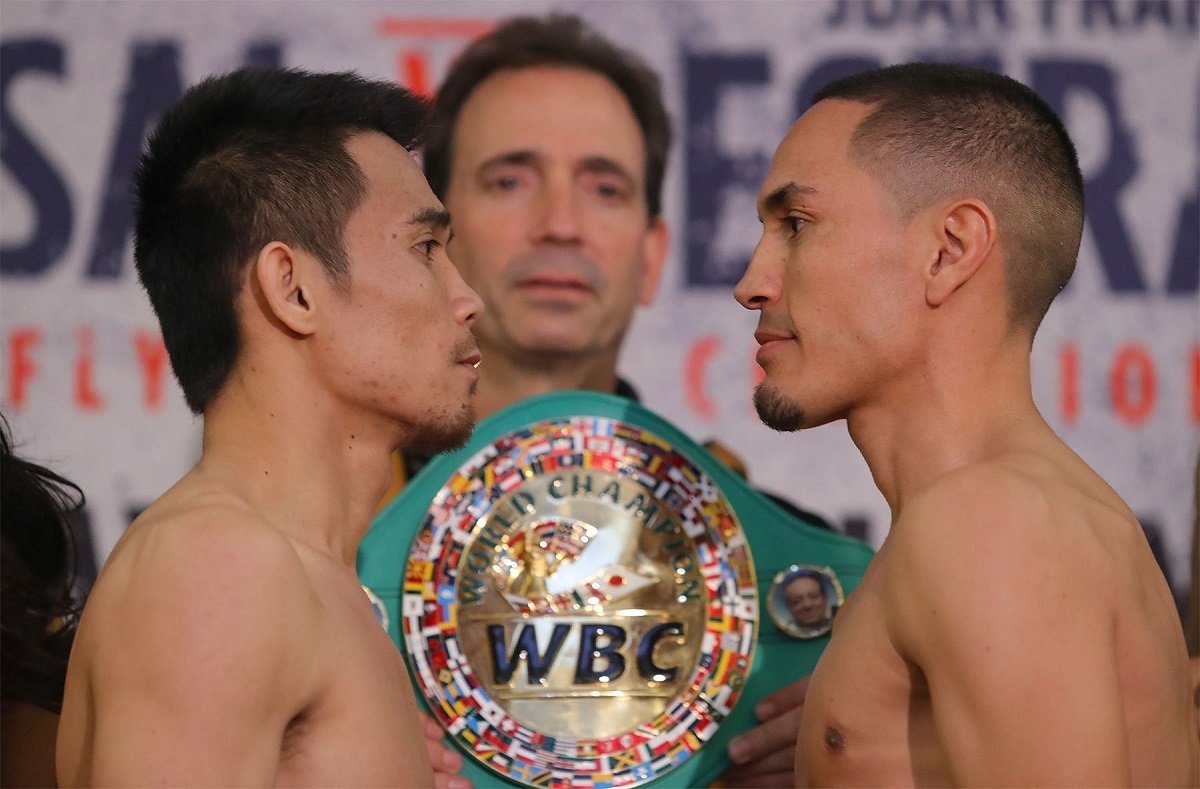 Srisaket Sor Rungvisai-Juan Francisco Estrada rematch in the works for September 8