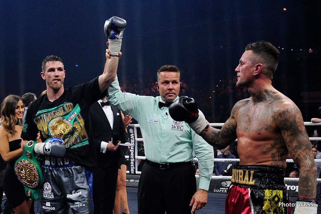 Callum Smith Nieky Holzken Boxing News Boxing Results