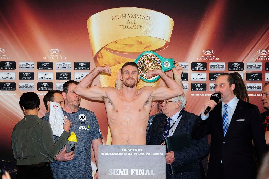 Callum Smith vs. Nieky Holzken – Official weights