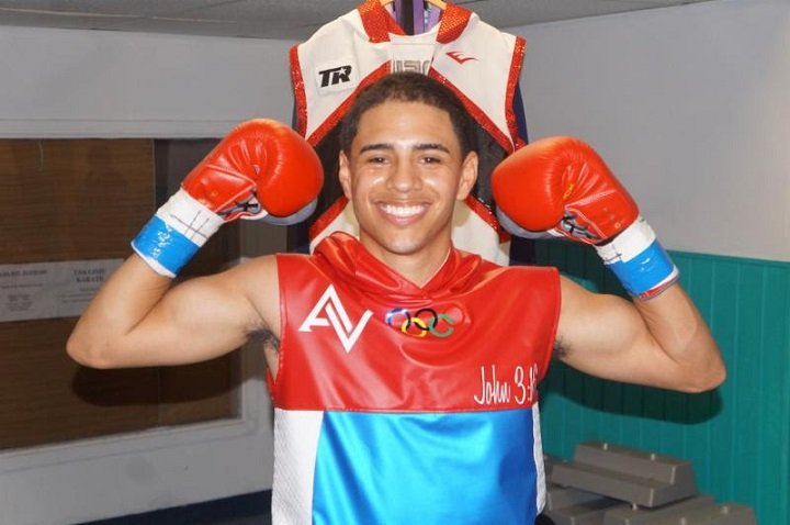 Antonio Vargas Jeyvier Cintron Tuto Zabala Jr. Press Room