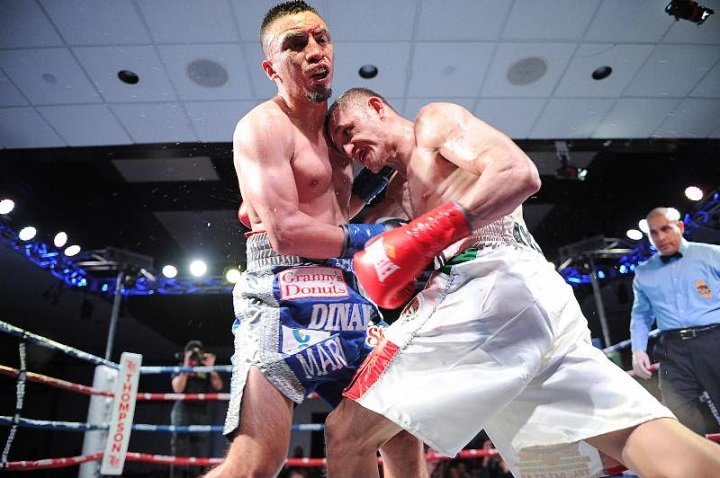 Isaac Zarate - In a tightly contested main event, Isaac Zarate (14-3-3, 2 KOs) pulled away in the second half against the very mobile Christian Ayala (12-2, 4 KOs) to win by unanimous decision (78-74, 77-75 twice) on Friday night.