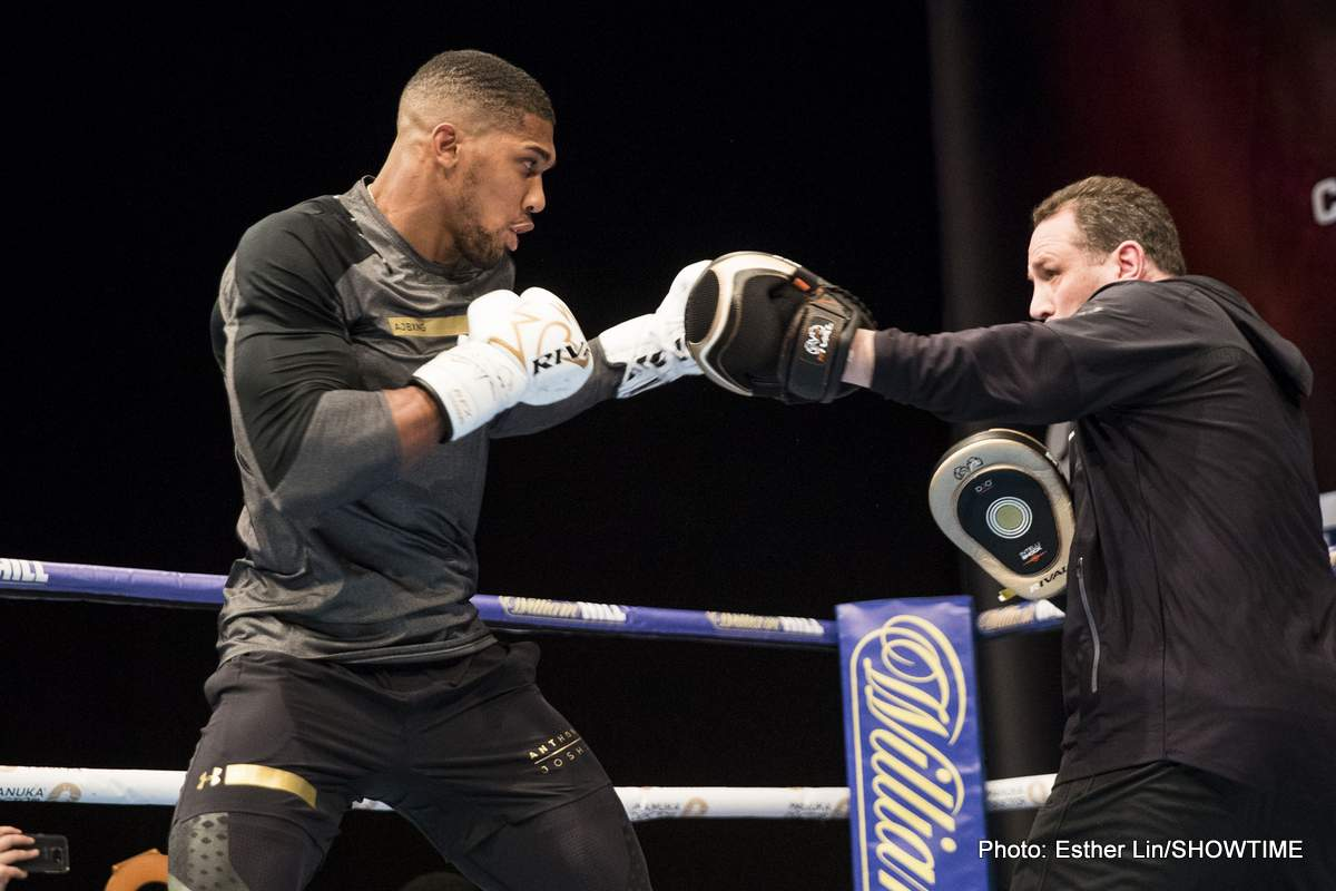 Alexander Povetkin Anthony Joshua Boxing News British Boxing