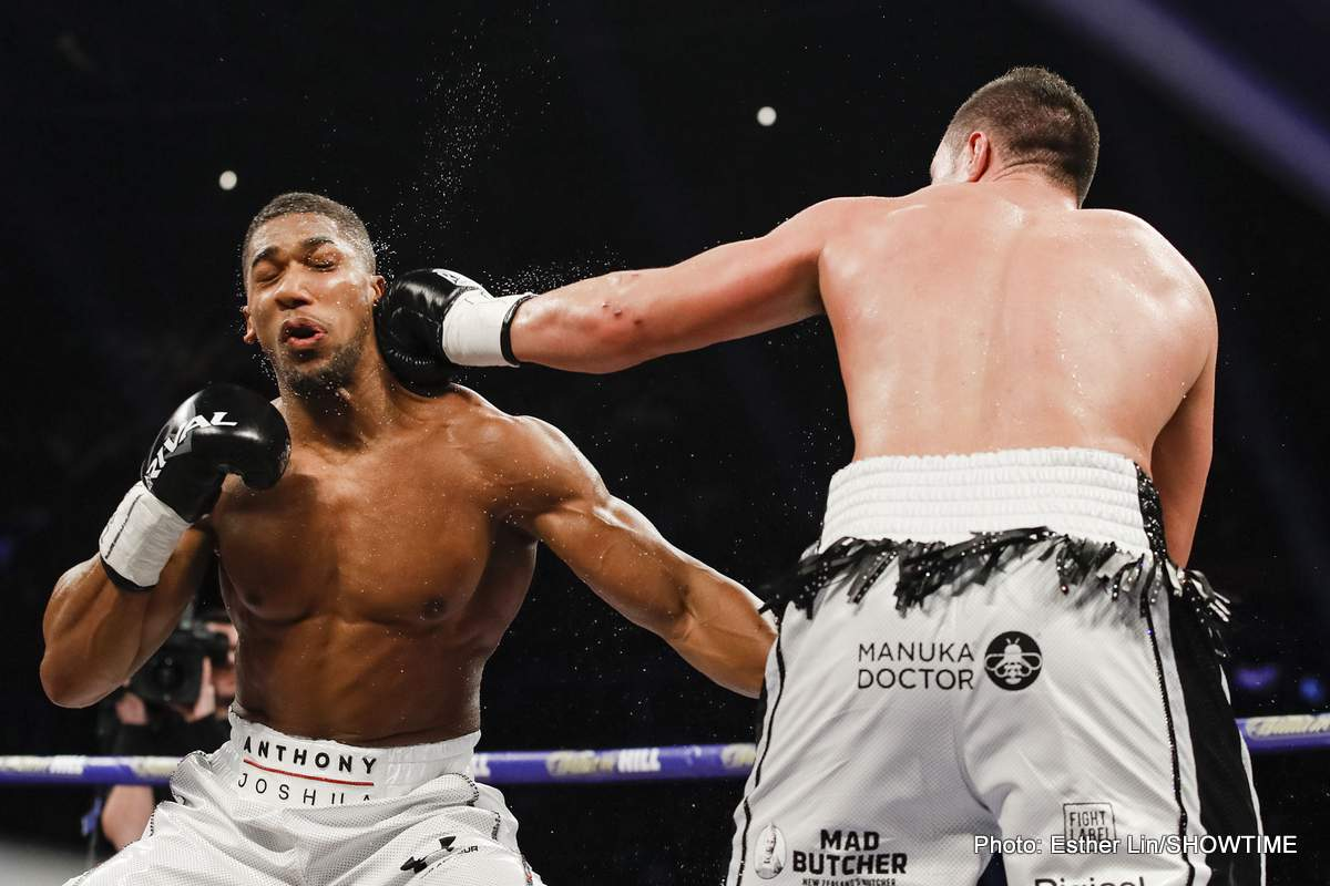Anthony Joshua Joseph Parker Boxing News Boxing Results Top Stories Boxing
