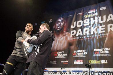 Anthony Joshua Joseph Parker Boxing News