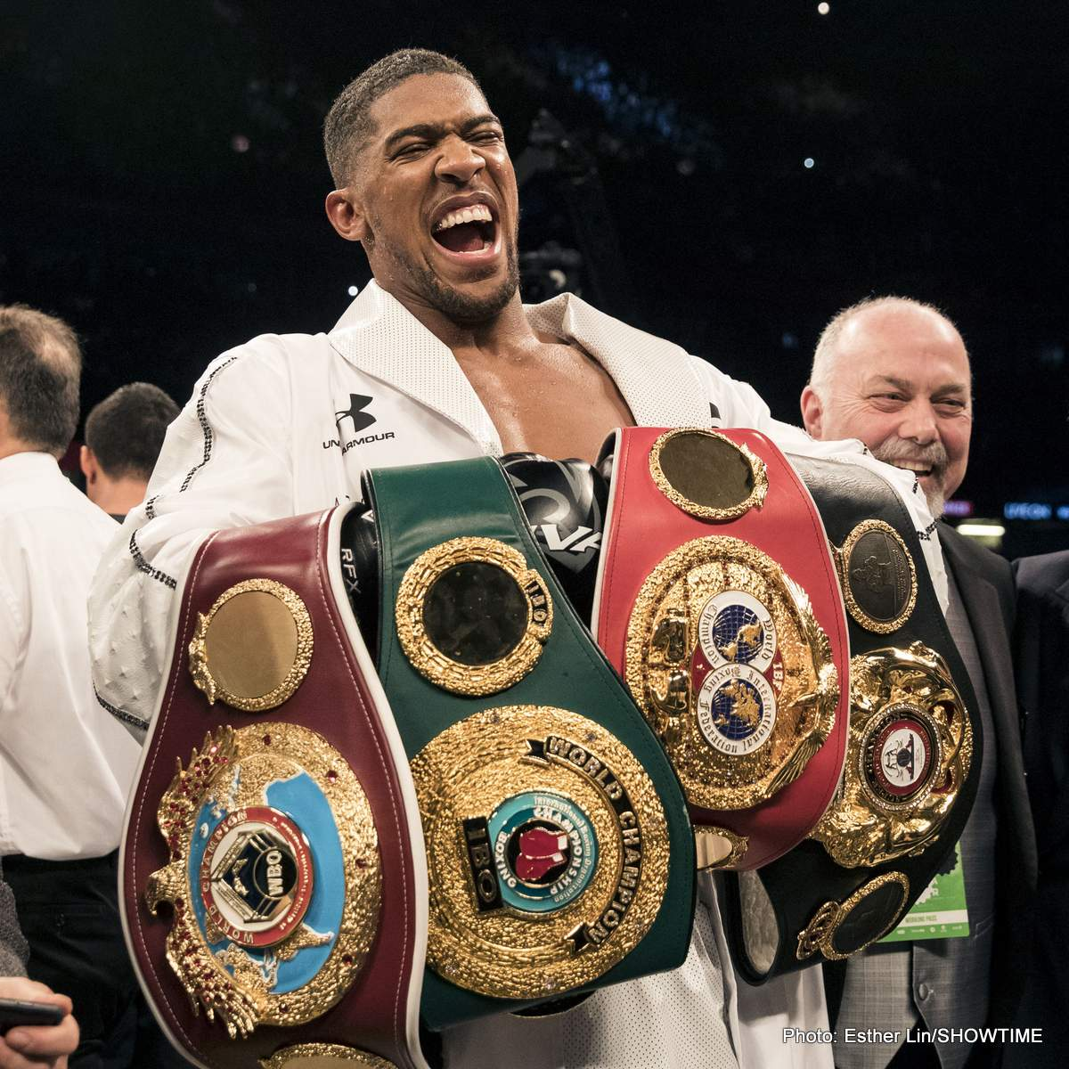 "Anthony Joshua Deontay Wilder Dillian Whyte Eddie Hearn Jarrell ""Big Baby"" Miller Boxing News British Boxing"