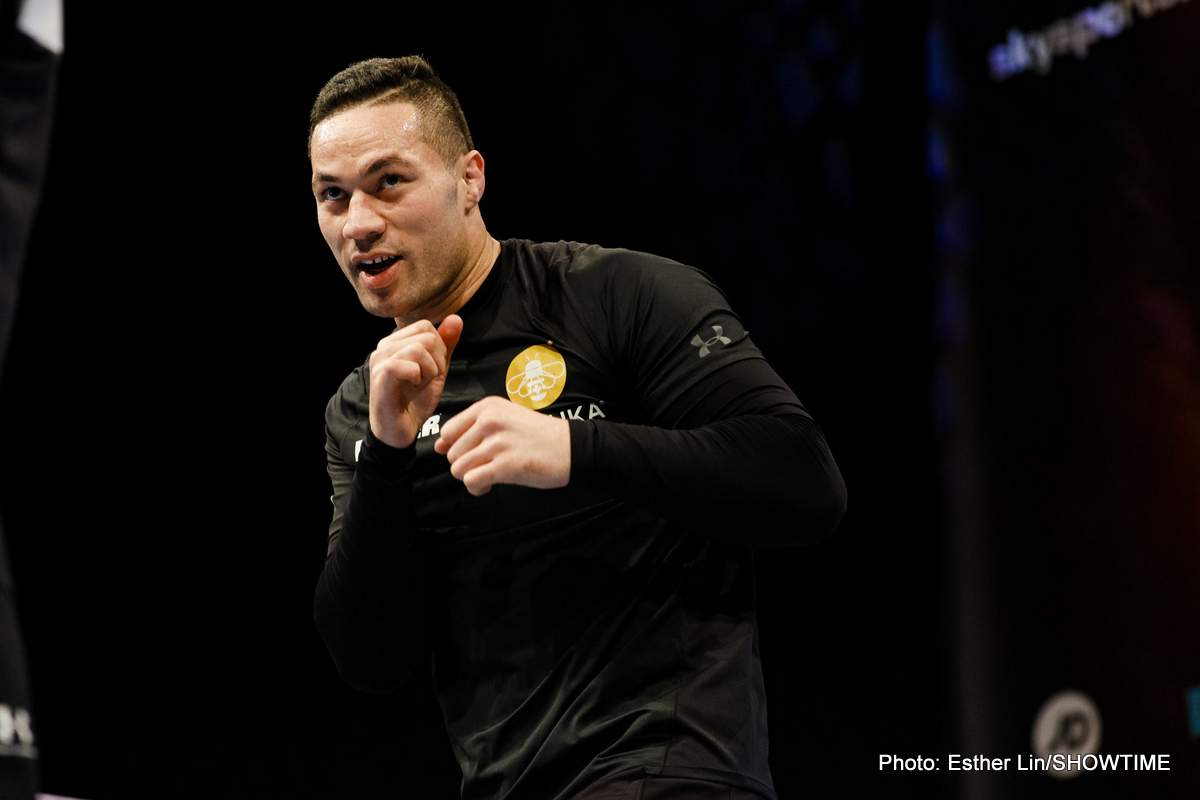 Joseph Parker Boxing News