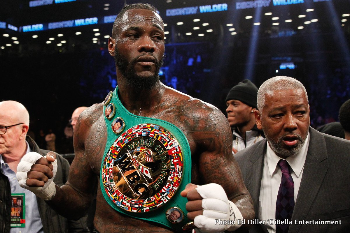 Deontay Wilder: Ten Years A Pro