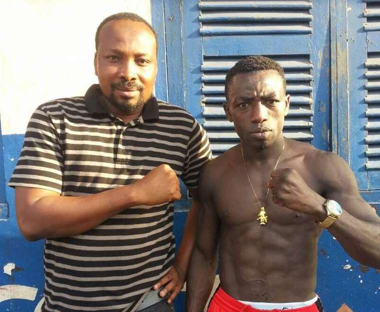 Ghana Boxing Supporters Union storm Namibia for Patrick Okine March 20