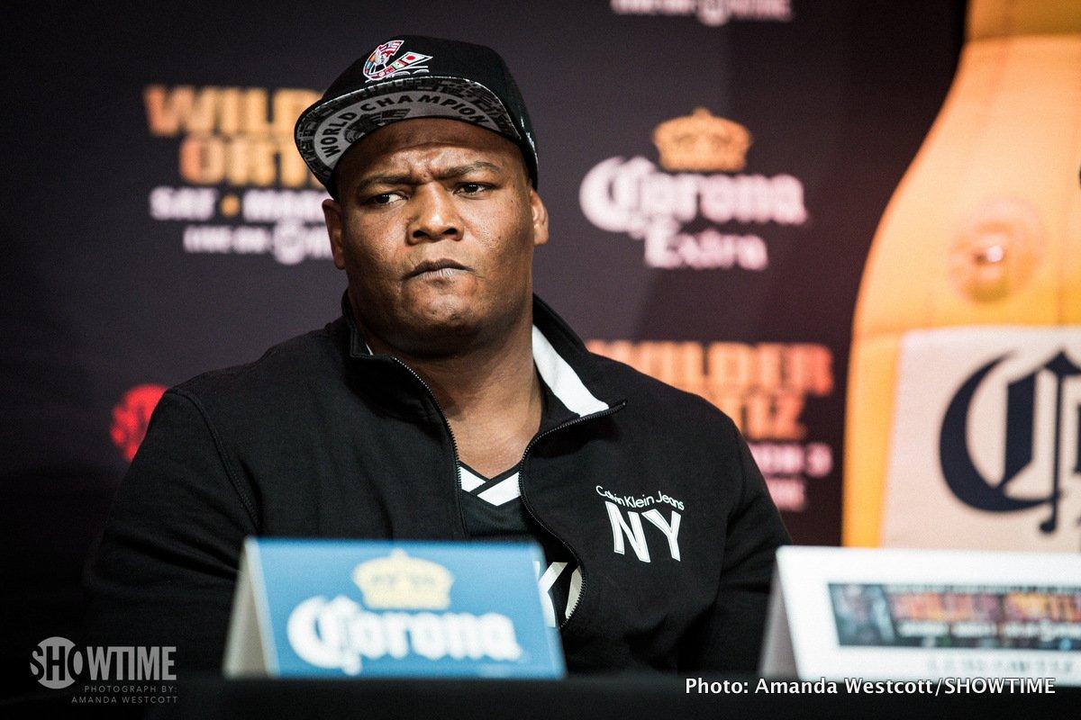 Andre Dirrell Deontay Wilder Jose Uzcategui Luis 'King Kong' Ortiz Boxing News Top Stories Boxing