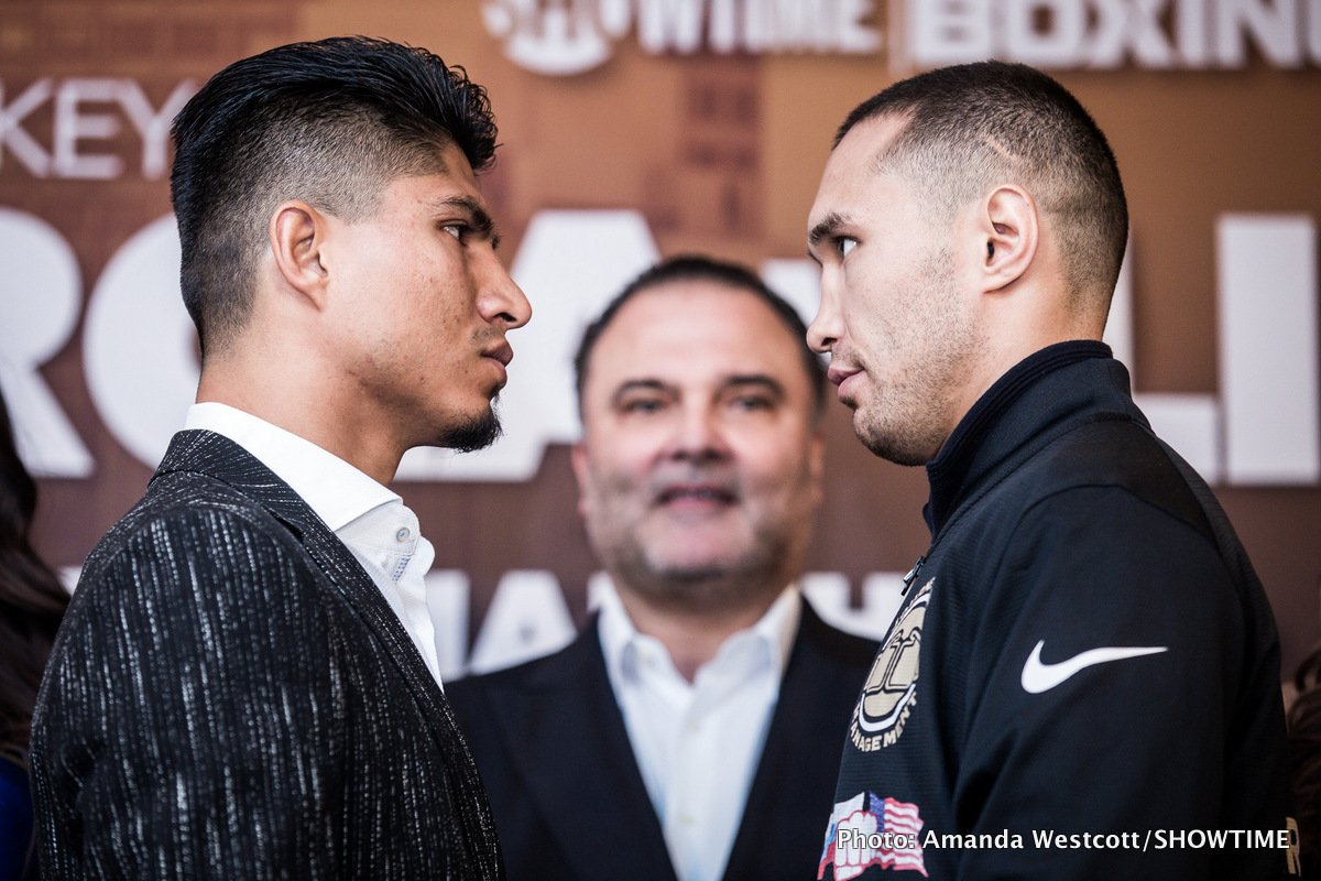 Mikey Garcia Sergey Lipinets Boxing News Top Stories Boxing