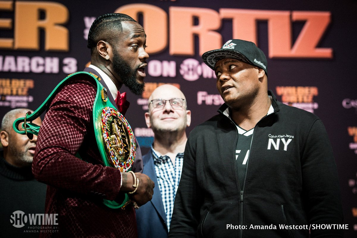 Deontay Wilder Luis Ortiz Boxing News Top Stories Boxing