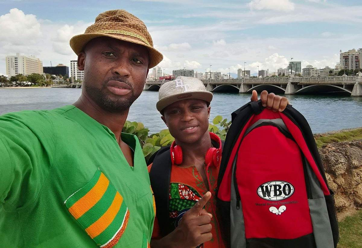 Isaac Dogboe - Paul Dogboe, father and trainer of WBO world title challenger, Isaac 'Royal Storm' has, on the advice of Top Rank CEO Bob Arum,  apologised for his comments earlier this week aimed at Jessie Magadaleno who his son fights for the world title next month.
