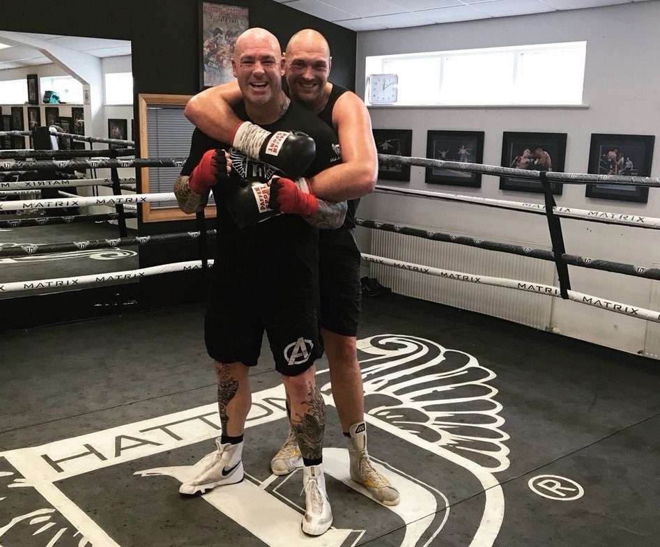 Browne spars Tyson Fury in preparation for Whyte