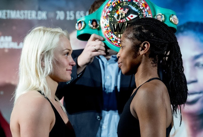Dina Thorslund - Dina Thorslund (10-0, 6 KOs) and her opponent Alicia Ashley (24-11-1, 4 KOs) both made weight today ahead of their WBC Female World Super Bantamweight Championship contest tomorrow night at the Struer Energi Park in Denmark.