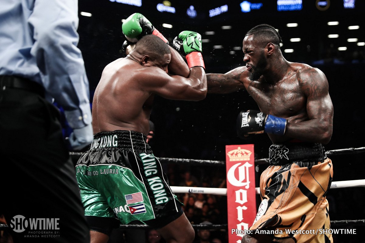 Anthony Joshua Deontay Wilder Oscar De La Hoya Boxing News