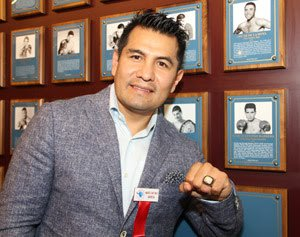 Marco Antonio Barrera - Press Room