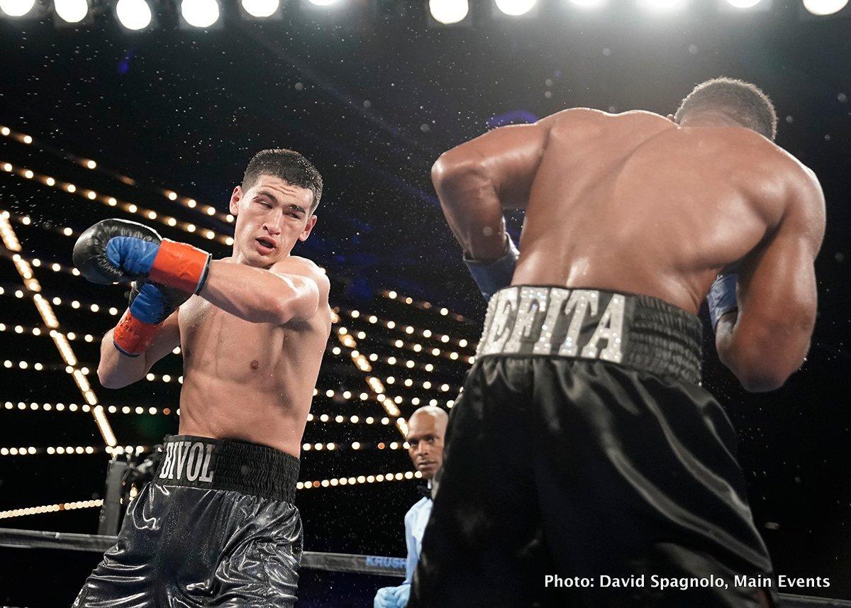 "Dmitry Bivol Eleider ""Storm"" Alvarez Boxing News"