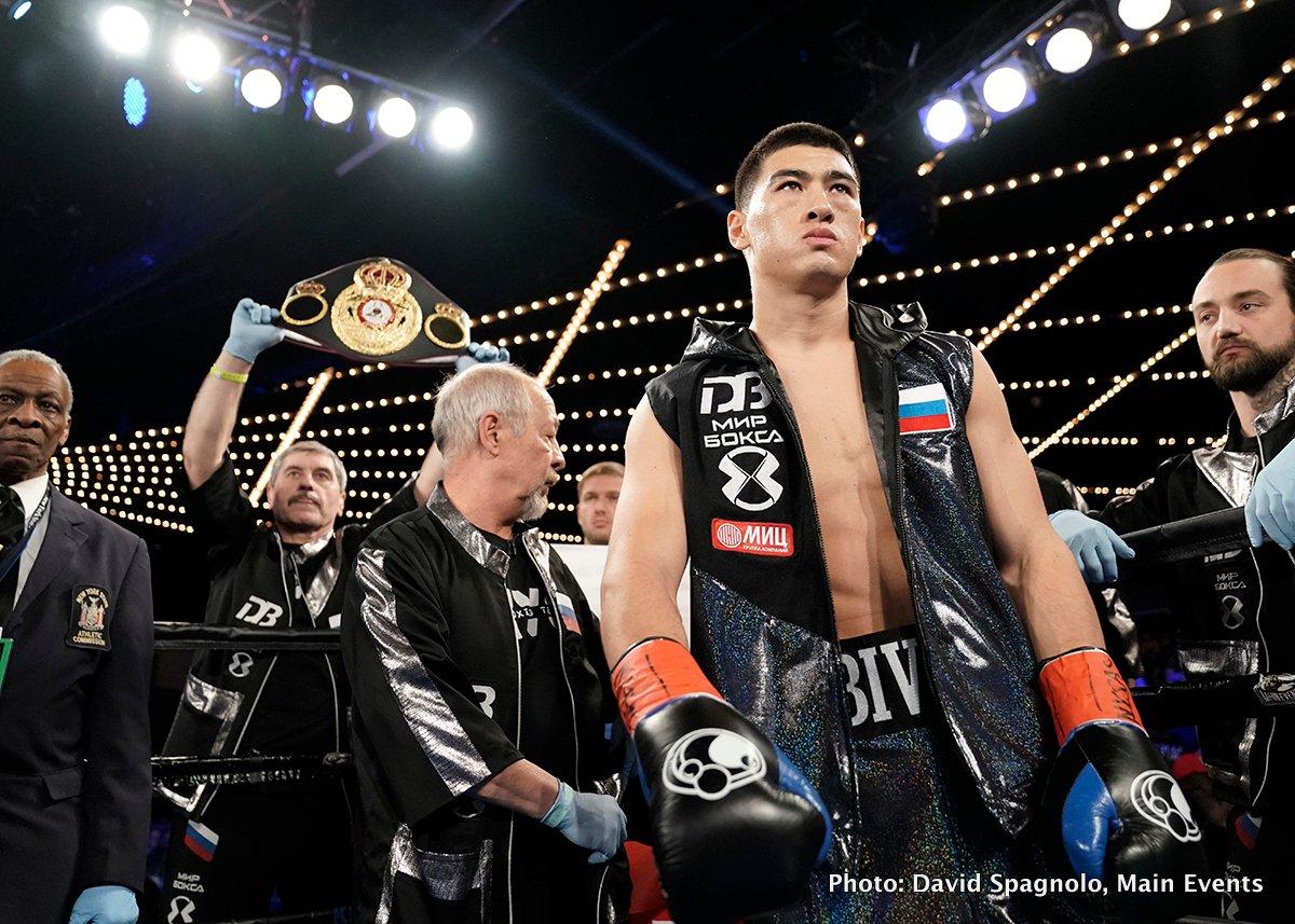 Dmitry Bivol vs. Isaac Chilemba on August 4 on HBO
