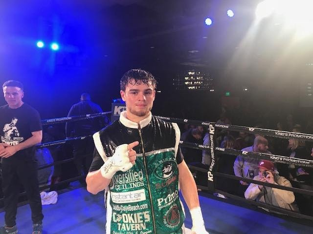 Christian Carto - Despite a driving snowstorm, fans packed a sold-out SugarHouse Casino to watch the continued rise of bantamweight Christian Carto, as the 21 year-old remained perfect with a eight-round unanimous decision over James Smith.