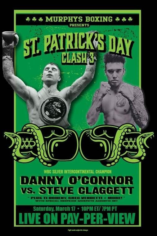 T.J.  Doheny fights this Saturday