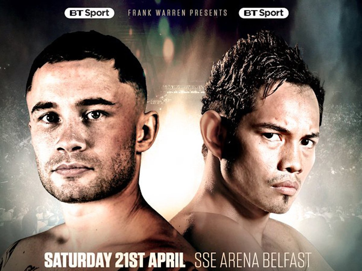 Frampton V Donaire Weights And Running Order