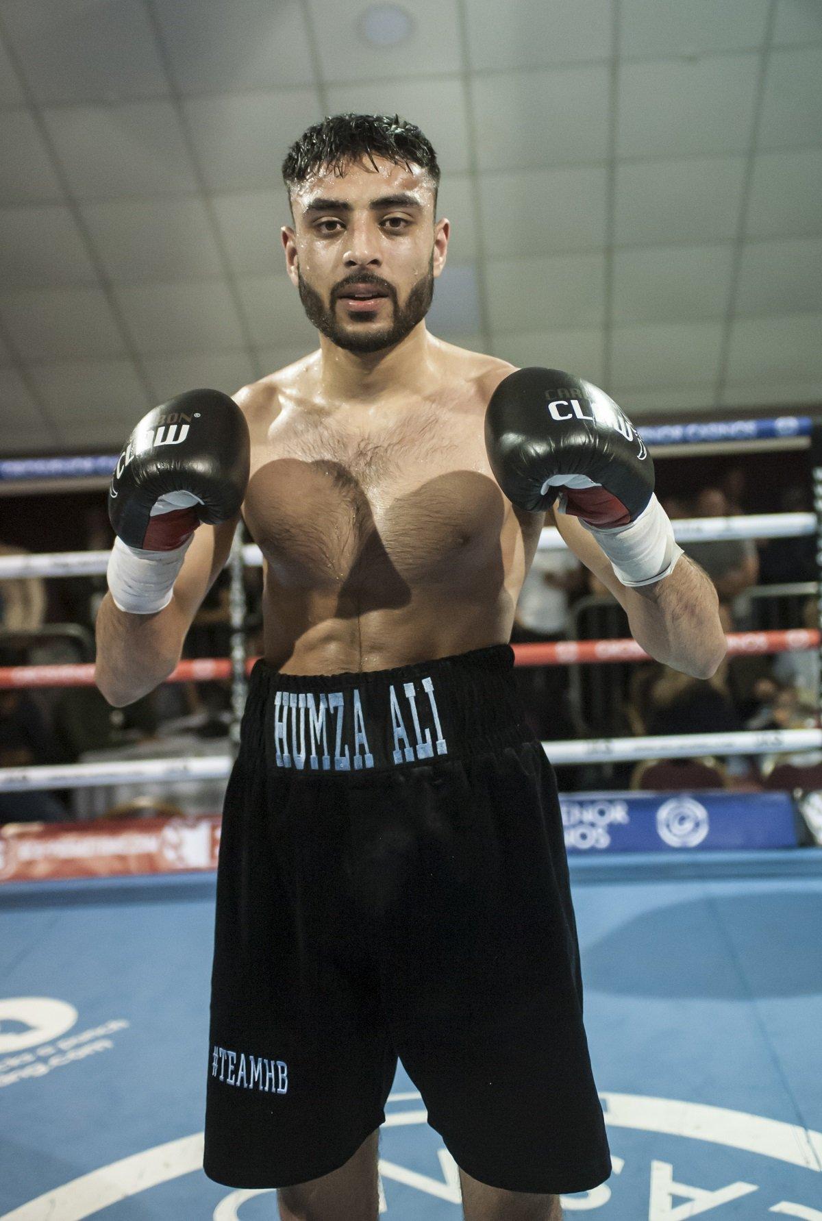 Humza Ali British Boxing Press Room