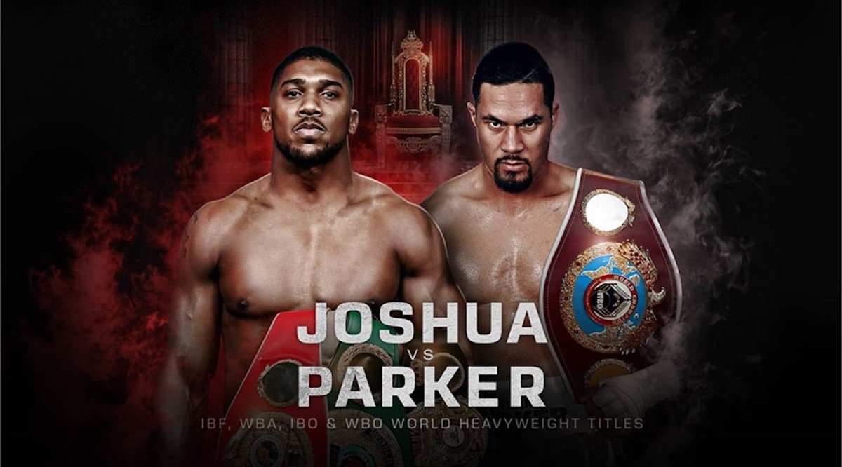 Anthony Joshua Joseph Parker Boxing Interviews Boxing News Top Stories Boxing