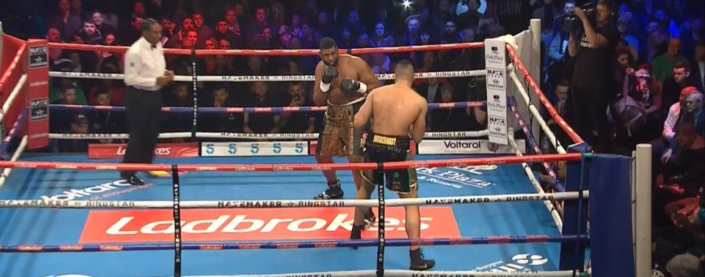 Donnie Palmer Joe Joyce Boxing News Boxing Results