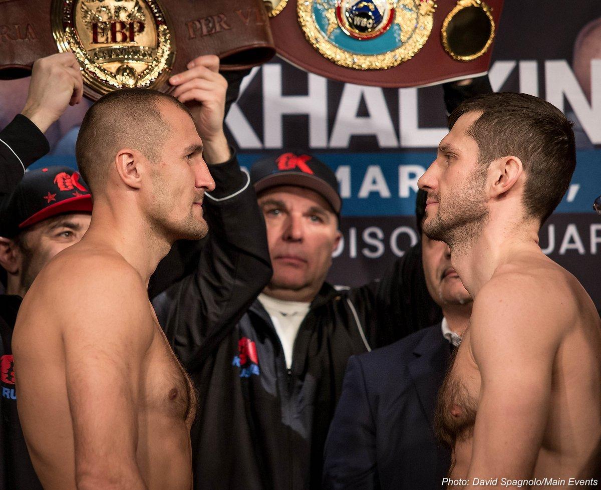 Weights: Kovalev-Mikhalkin & Bivol-Barrera