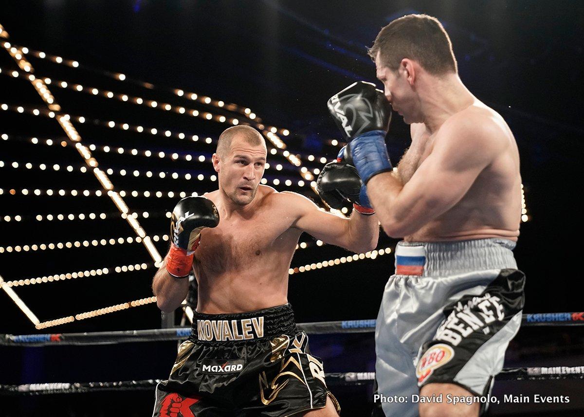 Igor Mikhalkin Sergey Kovalev Boxing News Boxing Results Top Stories Boxing