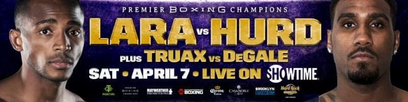 Erislandy Lara - Erislandy Lara vs. Jarrett Hurd Media Conference Call Transcript & Audio Recording for April 7 fight.