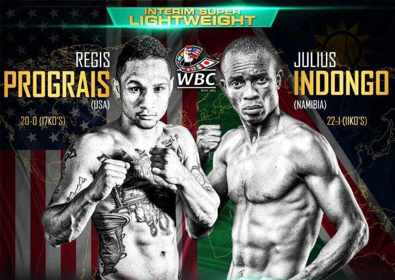Julius Indongo Regis Prograis Press Room