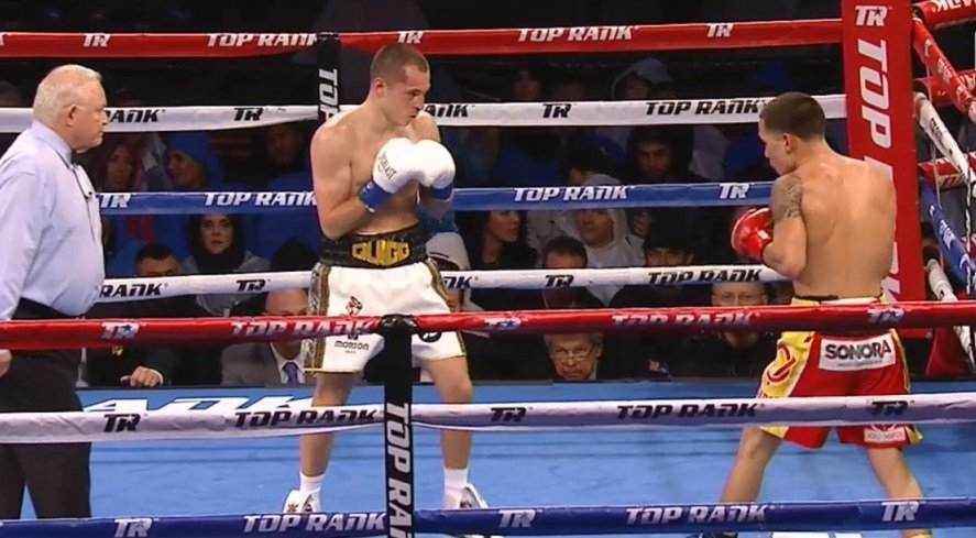 WBO World featherweight champion Oscar Valdez (24-0, 19 KOs) defeated former WBA super bantamweight champion Scott Quigg (34-2-2, 25 KOs) by a grueling 12 round unanimous decision on Saturday night at the StubHub Arena in Carson, California. Valdez said he had some teeth caved in tonight by Quigg. Valdez was hurt several times in the fight from big head shots.