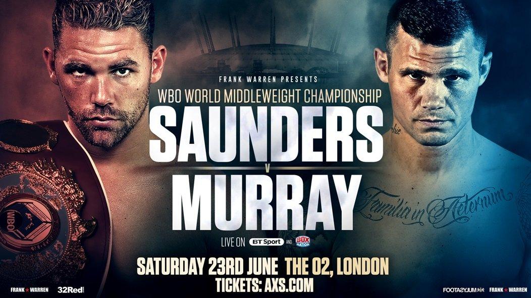 Billy Joe Saunders Martin Murray Boxing News British Boxing