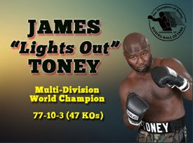James Toney Press Room