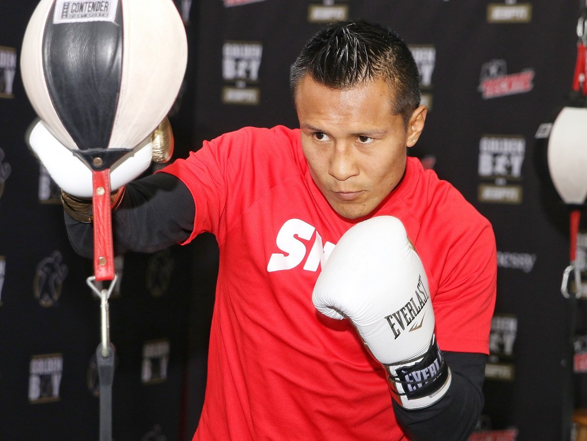 "Rod Salka - Francisco ""El Bandido"" Vargas (24-1-2, 17 KOs), two-time Fight of the Year winner and former WBC Super Featherweight World Champion, hosted a Los Angeles media workout on Tuesday, March 27 at Westside Boxing Club ahead of his battle against ""Lightning"" Rod Salka (24-4, 4 KOs) in a 10-round super featherweight fight in the main event of the April 12 edition of Golden Boy Boxing on ESPN at Fantasy Springs Resort Casino in Indio, Calif. ESPN2 and ESPN Deportes will air the fights beginning at 10:00 p.m. ET/7:00 p.m. PT, and stream live on ESPN3 starting at 8:30 p.m. ET/5:30 p.m. PT."
