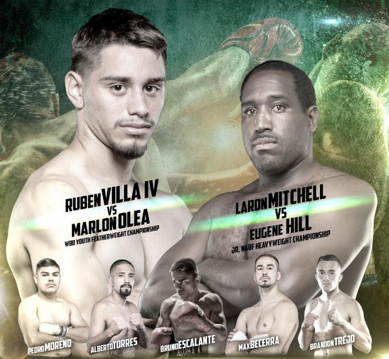 Ruben Villa To Fight On 4/14 In Salinas, California
