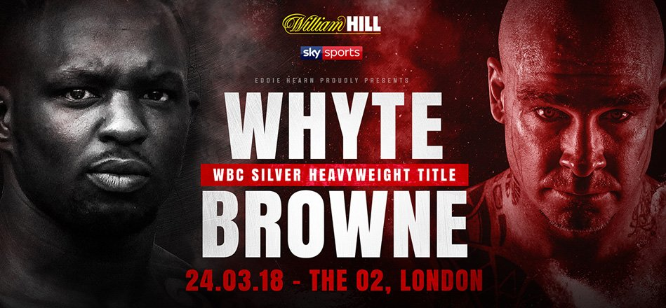 Dillian Whyte, Lucas Browne - We have less than a week to this much anticipated fight between the man from South London and the man from south of the world.