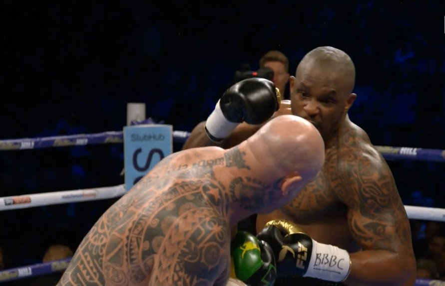 Results: Whyte destroys Browne in 6th round KO