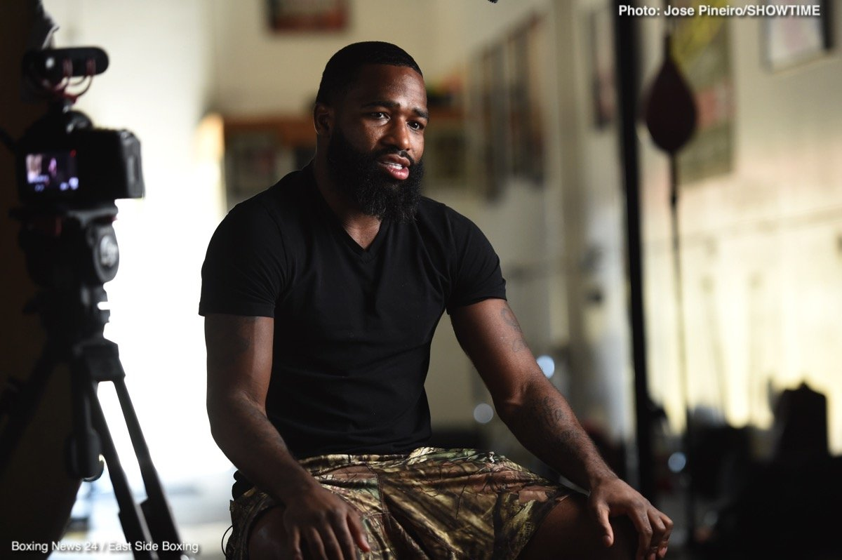 Adrien Broner - Would you quit your day job for the sum of $10,000 in cash? This is the offer controversial ex-champ Adrien Broner made to workers in a fast food restaurant yesterday. Broner, arguably the most disliked boxer in the world today (though he does have his fans), turned up at the fast food joint with bundles of hard cash and he then proceeded to offer certain employees the sum of ten grand in return for quitting their job.