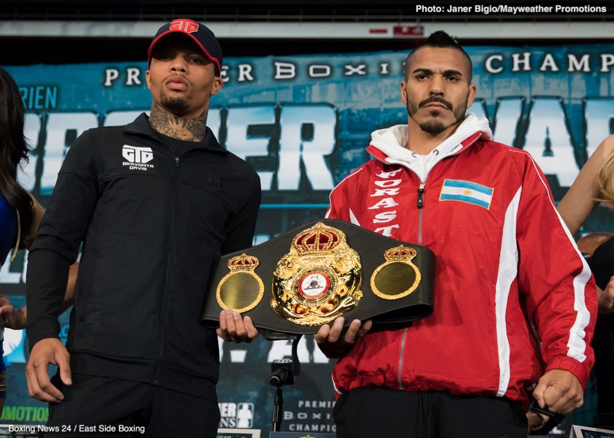 Gervonta Davis and Jermall Charlo both return as part of the Saturday's Showtime Tripleheader.
