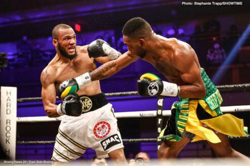 "Julian ""J-Rock"" Williams, Nathaniel Gallimore - Boxing News"