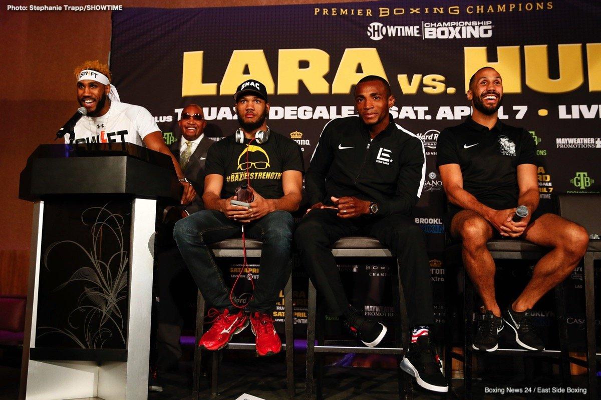 Caleb Truax Erislandy Lara James DeGale Jarrett Hurd Julian Williams Nathaniel Gallimore Boxing News Top Stories Boxing