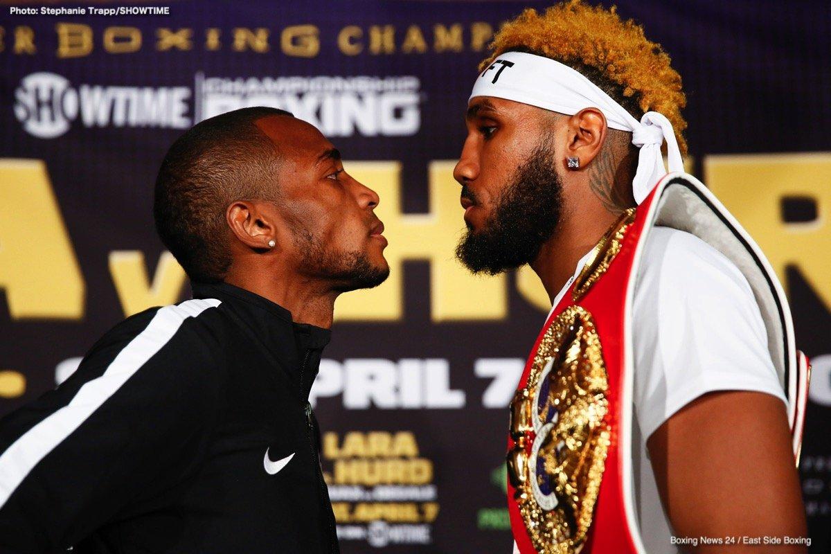 Caleb Truax, Erislandy Lara, James DeGale, Jarrett Hurd - A classic boxer versus puncher style matchup headlines a loaded tripleheader on Showtime this Saturday night. Erislandy Lara and Jarrett Hurd engage in a junior middleweight unification bout, a division the network has focused on for a better part of two years. The co-feature is a rematch from one of the biggest upsets of 2017, Caleb Truax versus James Degale. On paper, the potential is there for this stacked card being the best of the year thus far.