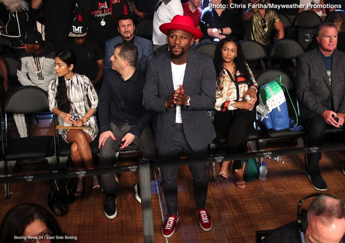 Floyd Mayweather says he will fight again, but not in the ring – only in the Octagon
