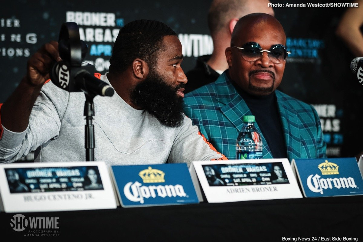 "Adrien Broner turns down Eddie Hearn's three-fight, $6.75 million offer, calls it a ""slave deal"""