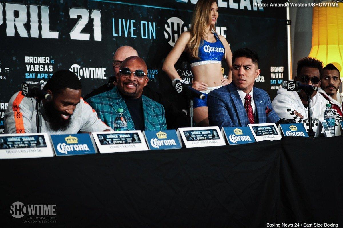 "Adrien Broner Gervonta Davis Hugo ""The Boss"" Centeno Jr. Jermall Charlo Jessie Vargas Jesus Cuellar Boxing News Top Stories Boxing"