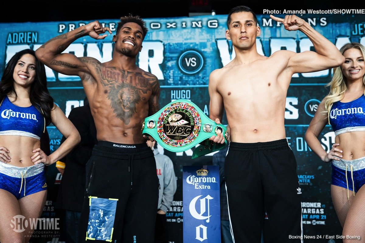 Hugo Centeno Jr - Gervonta Davis and Jermall Charlo both return as part of the Saturday's Showtime Tripleheader.