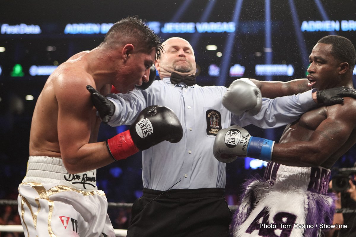 Results: Adrien Broner vs. Jessie Vargas ends in draw